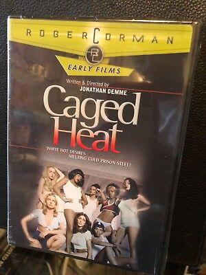 Caged Heat (DVD) Jonathan Demme, Juanita Brown, Erica Gavin, Barbara Steele NEW!