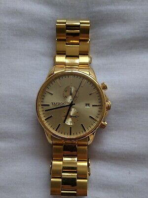 Tayroc Lotus TY30 Gold men's watch excellent condition