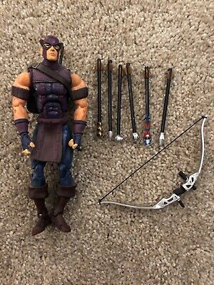 "Marvel Legends 6"" HAWKEYE Action Figure Series VII 7 ToyBiz The Avengers"