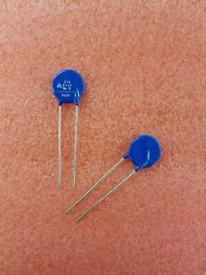 20x Sm S14k150 150v Siov Metal Oxide Varistors Mov Through Hole