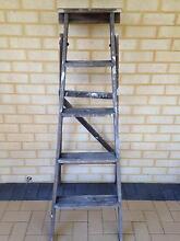 Wooden Vintage Ladder Wellard Kwinana Area Preview