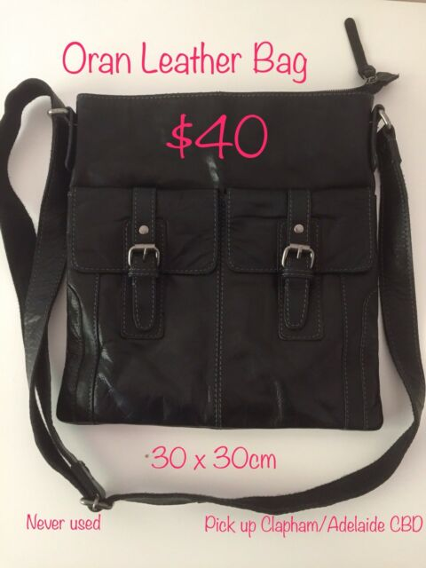Oran Leather Black Handbag Bags Gumtree Australia Adelaide City Cbd 1193002974