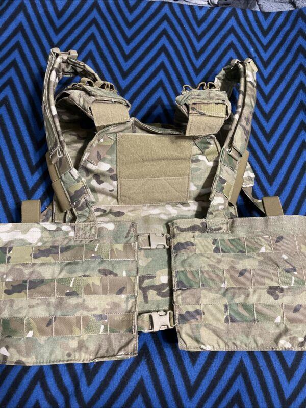 Eagle Industries Multicam FBI HRT Plate Carrier W/ FBI Molle Chest Rig Crye LBT