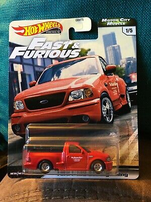 2020 HOT WHEELS * FAST & FURIOUS * MOTOR CITY MUSCLE *  FORD F-150 SVT LIGHTNING