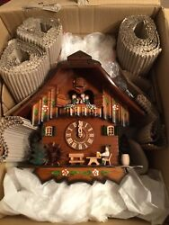 New 8 Day Musical Cuckoo Clock.