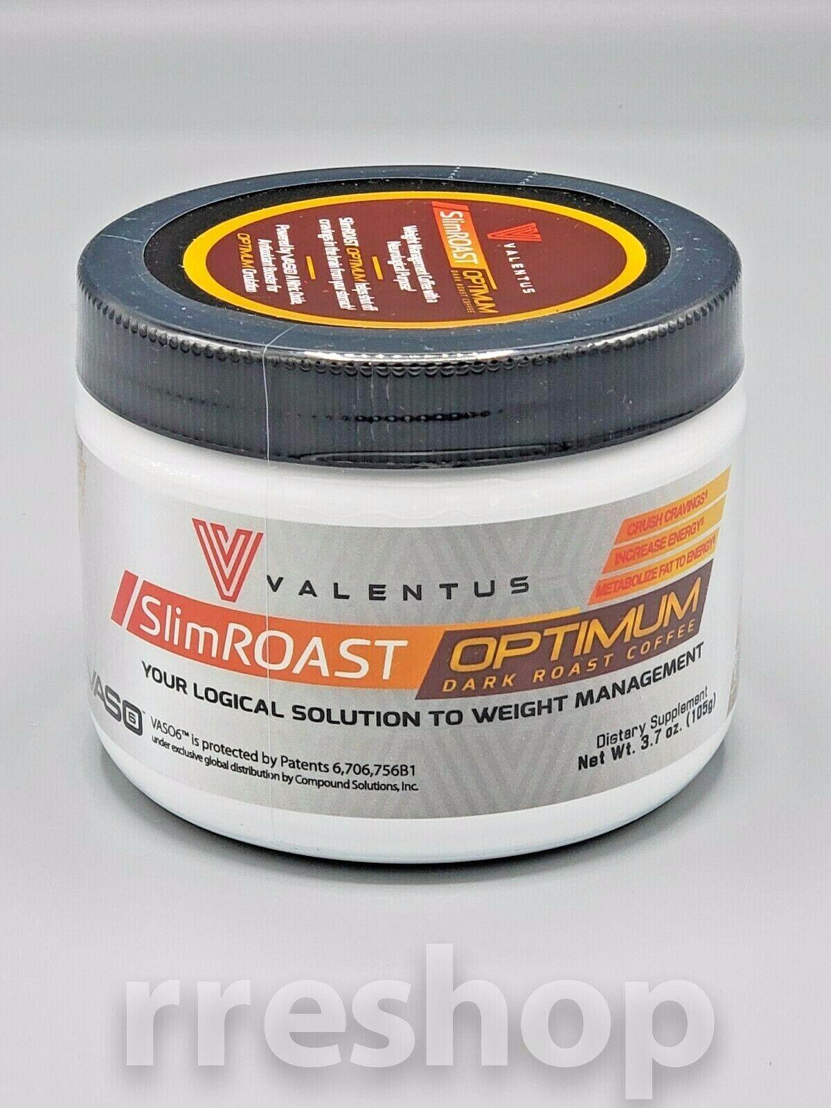 Valentus Slimroast Optimum Dark Roast Coffee 3 7 Oz Ebay