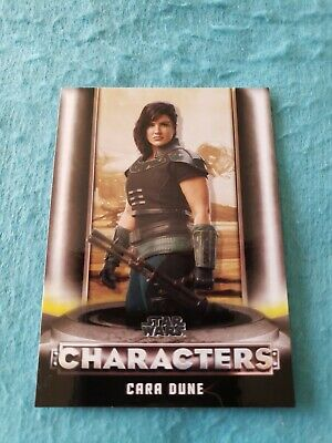 2020 Topps Star Wars The Mandalorian Season 1 Cara Dune Insert Card #C-3