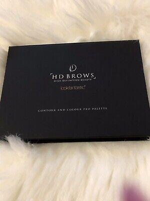 HD BROWS Contour & Colour Pro Palette - Foundation/Bronzer/Highlighter/Blush