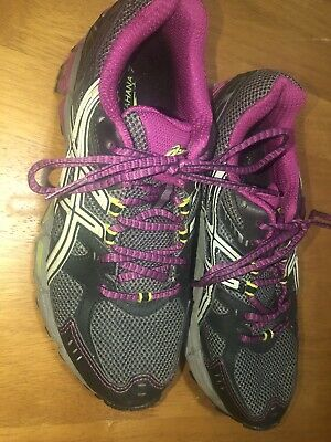 EUC ASICS Gel-Kahana 7 Women's Size 7.5 Trail Running Shoes