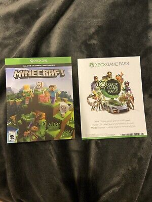 Minecraft Xbox One New - Key Code And 1 Month Of Xbox Live🔑   [No CD/DVD]