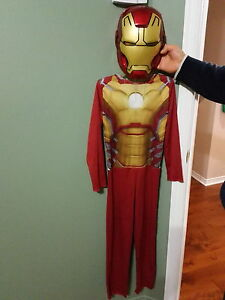 Ironman costume with mask