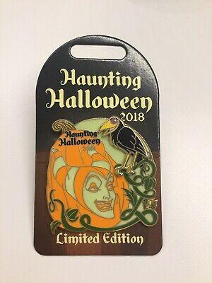 Disney Pin Haunting Halloween 2018 Maleficent El Diablo Sleeping Beauty Pin Rare - Diablo Halloween