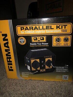 Firman 1005 Portable Inverter Generator Parallel Kit 120 Volt W Led Panel