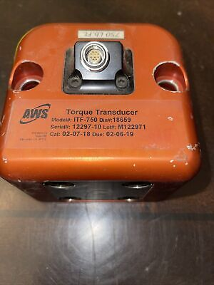 Itf-750 750 Lb-ft 1016 Nm Torque Transducer With Bench Stand 34 Dr