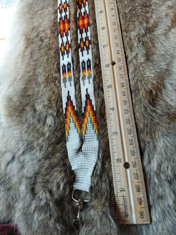 Native American Styled Beaded Lanyard