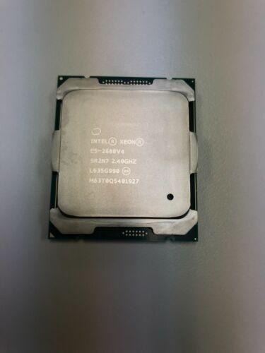 INTEL XEON E5-2680V4 14 CORE 2.40GHz 35M 9.6 GT/s 120W PROCESSOR SR2N7