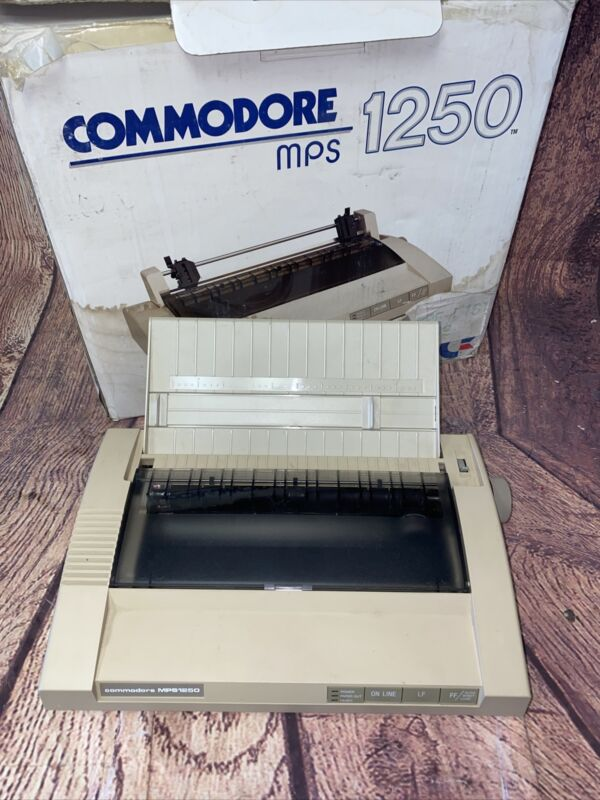 Vintage Commodore MPS 1250 Dot Matrix Printer