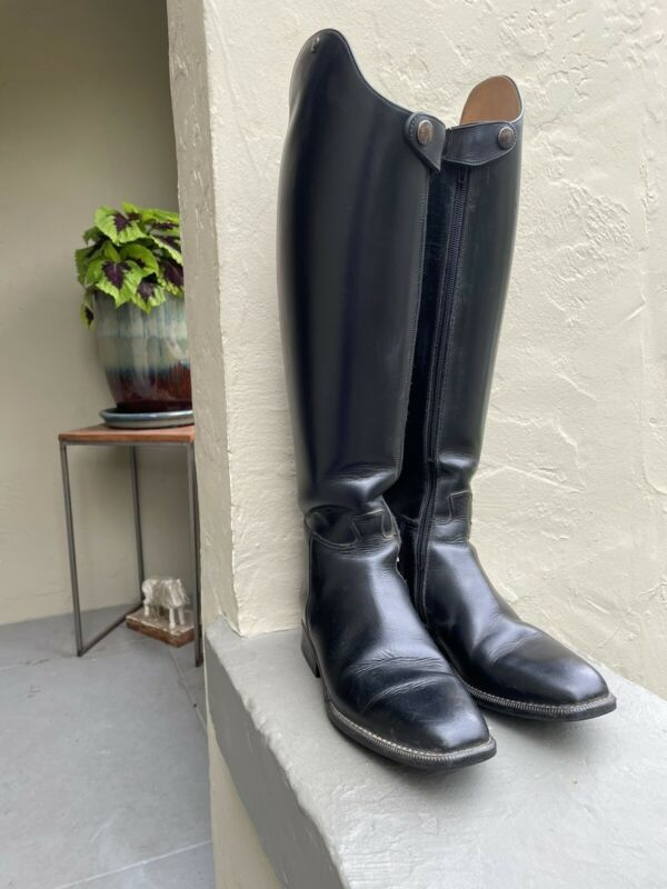 Petrie Olympic Dressage Boots with Full Zippers, Size 8.5-9 Great Condition