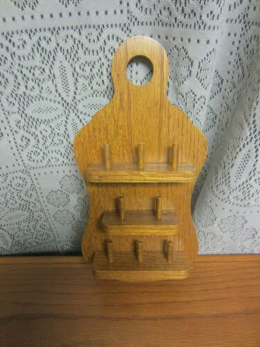 Solid Wooden Thimble Holder Display Case Wall Hanging
