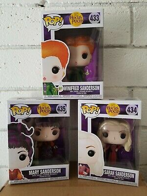 Hocus Pocus 3-Pack Bundle Sanderson Sisters Funko Pop Spirit Exclusive Disney