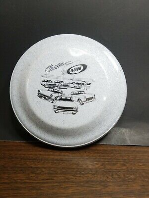 "A&W root beer collectibles cruisin frisbee 9"" across"