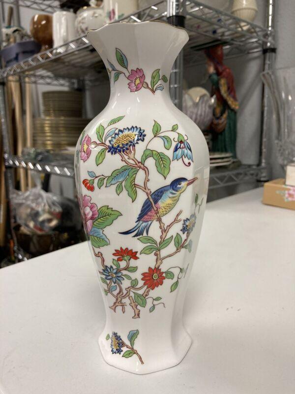 Aynsley Pembroke Vase 18th Century Reproduction