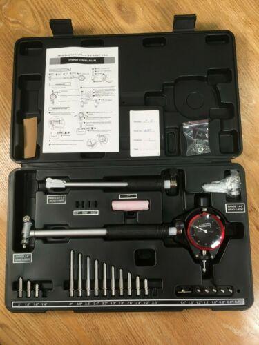 """iGAGING Dial Bore Gauge 0.7""""-6""""/0.0005"""" 10"""" Depth Cylinder Measurement Gauge"""