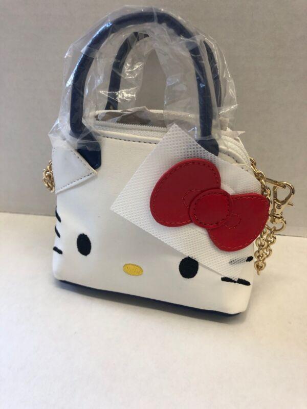 Sanrio Original: Mini Hello Kitty Hand Tote Bag With Chain Accessory (G3)