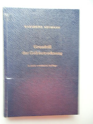 Grundriß der Gefriertrockung 1. Auflage 1952