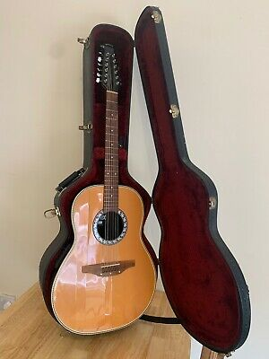 Matrix Ovation 12 String Acoustic Guitar - With A Hard Case