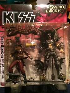 KISS Gene Simmons action figure, New, sealed.