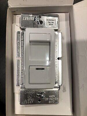 LEVITON Low Voltage Magnetic Slide Dimmer 1000 Watt IPI10-LAW White, Almond Slide Almond Dimmer