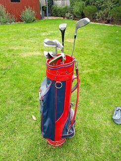 Golf clubs - Half set - Slazenger, Wilson and PGF