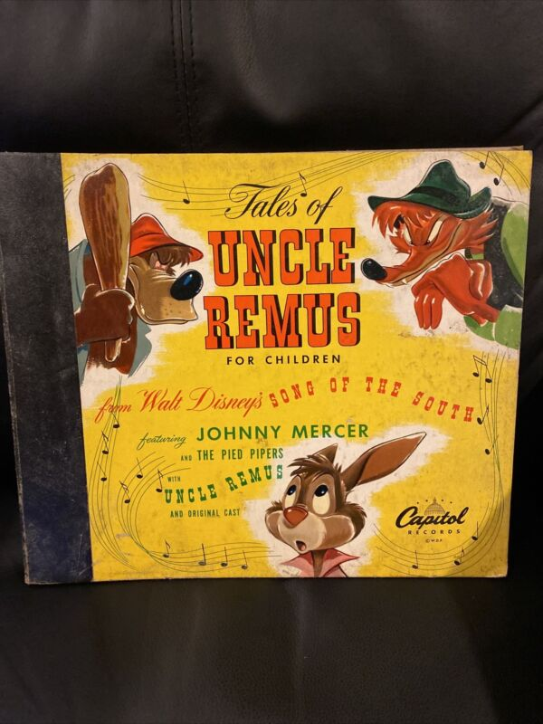 Tales of Uncle Remus for Children. Walt Disney Songs of the South. Capitol. Lp