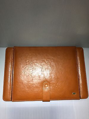 Strand 1755 Executive Office Table Fine Leather Desk Organizer-england-rare