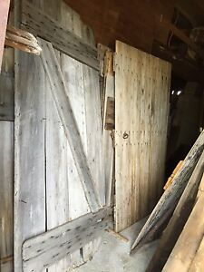 Century doors, Barn windows & wood ladders