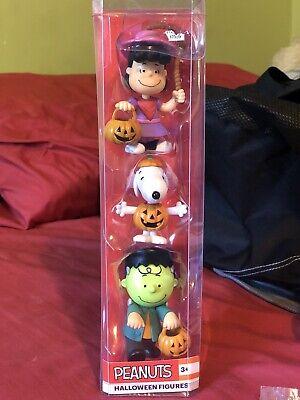 Peanuts Halloween Figures 2019 (NEW! Peanuts Halloween Figures 3-Pack - Lucy - Snoopy - Charlie Brown)