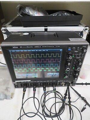 Lecroy Wavesurfer 24mxs-a 200 Mhz Oscilloscope 2.5 Gss Nc56