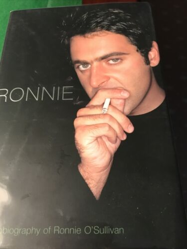 *Signed* Ronnie O Sullivan Autobiography 'Ronnie'  Snooker World Champion