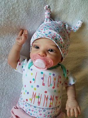 Reborn Baby Girl Smilla by Sabine Altenkirch Ultra Realistic Newborn Doll