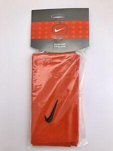 cc6b98157e2 Nike Swoosh Bandana Orange 564845 815 MISC