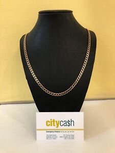 9ct Gold Solid Chain Adelaide CBD Adelaide City Preview