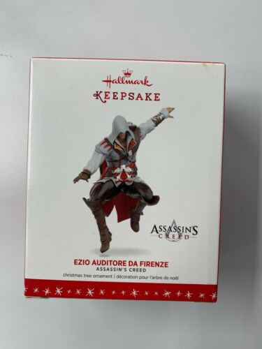Assassin's Creed Ezio Auditore Da Firenze Hallmark Keepsake Ornament 2016 NEW