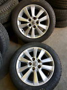 Toyota corolla 16 inch wheels and tyres Ingleburn Campbelltown Area Preview