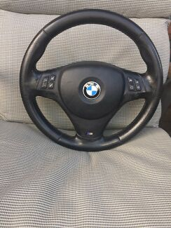 BMW E90 msport steering wheel******2008  Campbelltown Campbelltown Area Preview