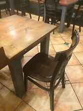 Cafe 9 chairs and 4 tables Chatswood Willoughby Area Preview