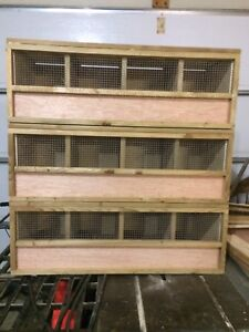 Show boxes for chicken/rabbit/duck/goose/pigeon