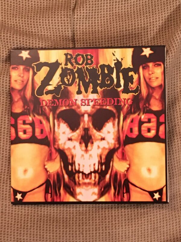 "Rob Zombie DEMON SPEEDING 7"" Signed By Bill ""Otis"" Mosley! HOUSE OF 1000 CORPSES"
