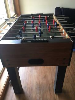 table soccer foosball table