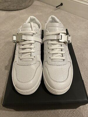 1017 alyx 9sm low trainer sneakers with buckle.
